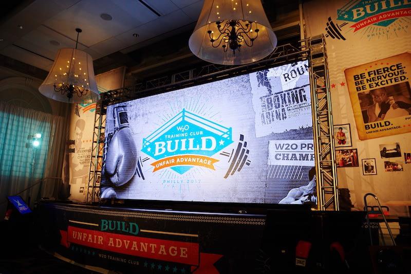 Building Unfair Advantages …and Large Screens