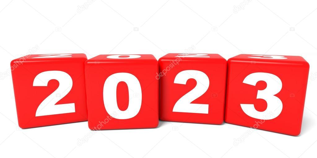 Depositphotos 68542961 Stock Photo 2023 New Year Cubes